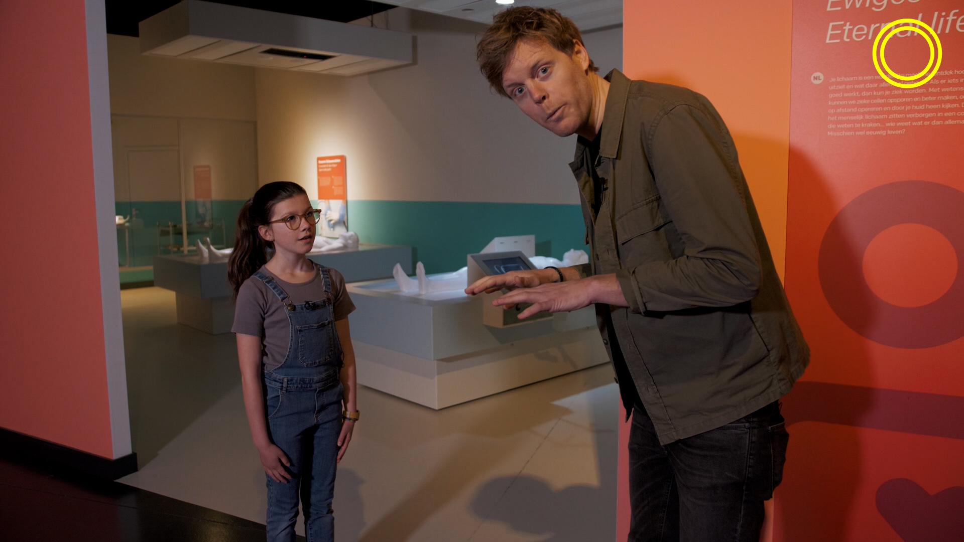 Lex Uiting start tijdens Museumweek met ontdekkingstocht door Discovery Museum